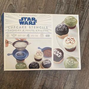 William Sonoma Star Wars Cupcake Stencils